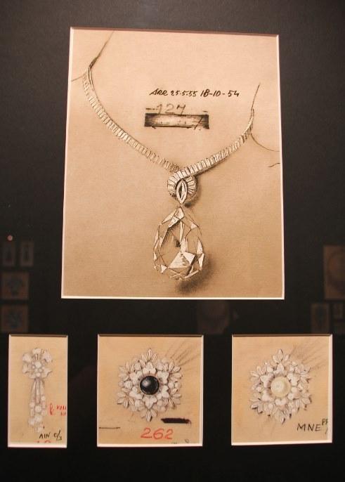 设计饰品-服饰设计-猪八戒网   奢侈珠宝首饰设计手稿-+宝石常