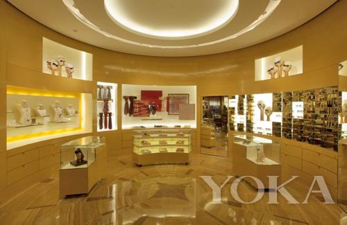 上海恒隆广场路易威登之家内室