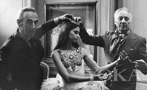Pierre Arpels、Suzanne Farrell 与 George Balanchine 1976年