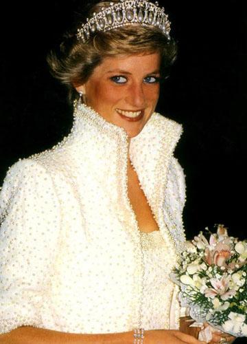 戴安娜王妃戴过的奢华皇冠