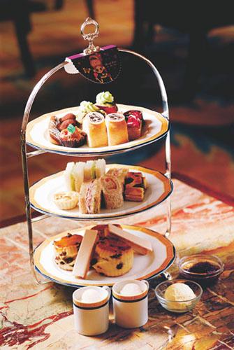 奢华主义 玩物 正文    q:英式下午茶的茶点别具特色,三层塔的具体图片