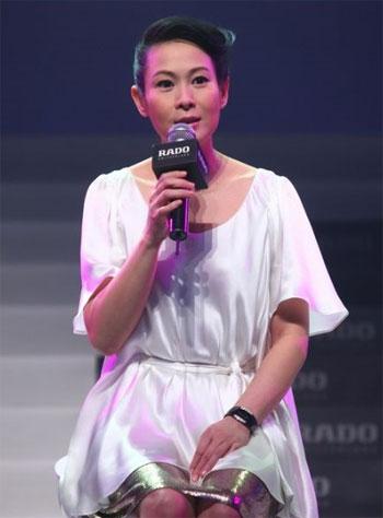 刘若英成为雷达表首位全球代言人