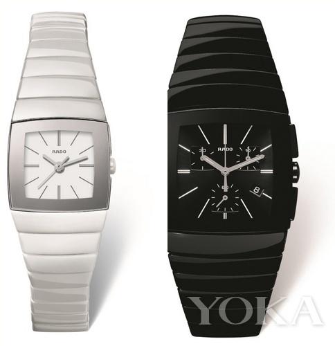 雷达表Sintra银钻系列高科技陶瓷腕表