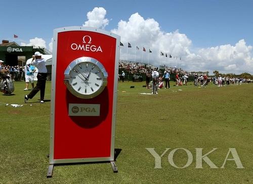 欧米茄为2012年PGA锦标赛担任指定计时