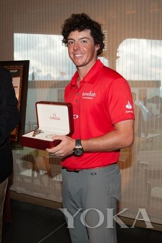 麦克罗伊问鼎第94届PGA锦标赛 获赠欧米茄腕表