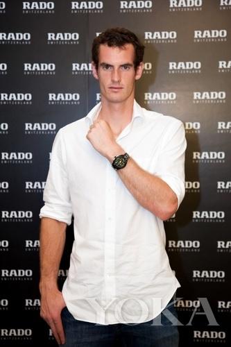 瑞士雷达表全球品牌代言人安迪·穆雷
