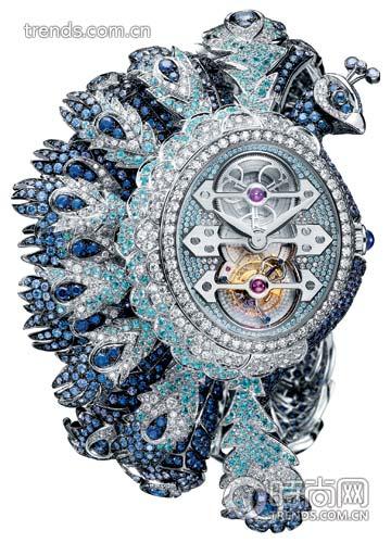 宝诗龙Hera Tourbillon手镯手表