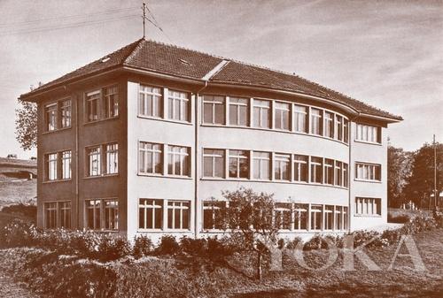 1947年时伯爵表厂外观