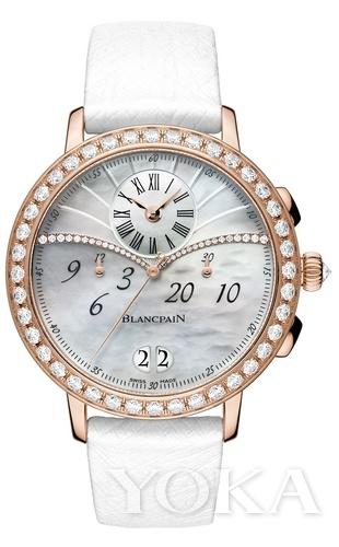 Blancpain宝珀巴塞尔新品:大日历窗计时码表