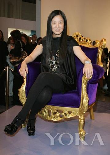 著名华裔婚纱设计师王薇薇