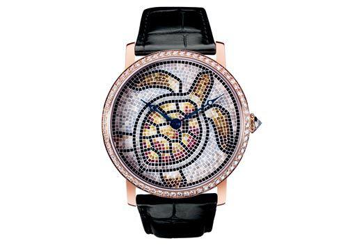 卡地亚海龟手表