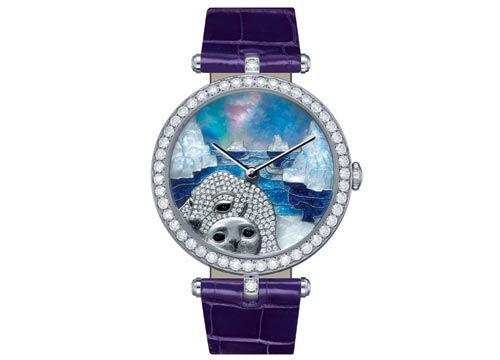 梵克雅宝海豹手表