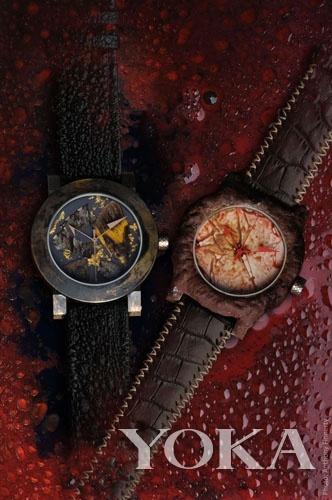 令人感到不舒服的ArtyA-Blood-dial腕表