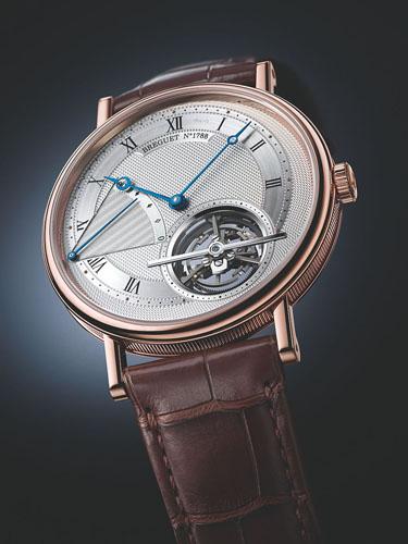 最薄自动陀飞轮手表:宝玑超薄自动上弦陀飞轮5377手表