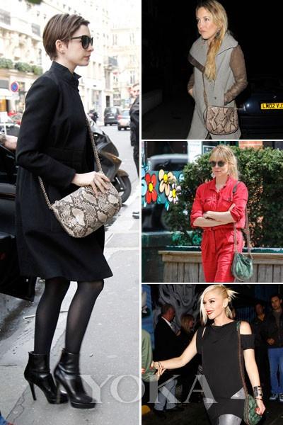 Anne Hathaway、SiennaMiller、 Kate Hudson、Gwen Stefani