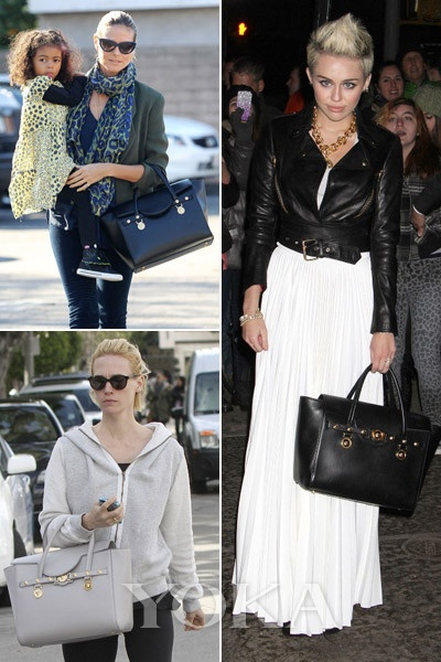 Miley Cyrus、Heidi Klum、January Jones