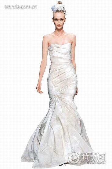 时装画手绘图礼服裙