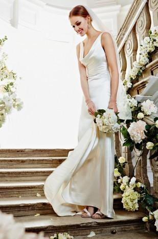 最美新娘装 给自己一身奢华礼服 新娘造型 婚嫁