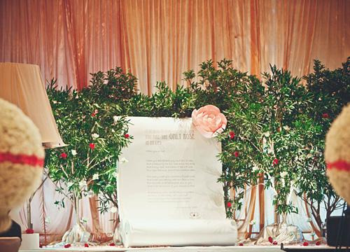 小王子与他的玫瑰 主题婚礼