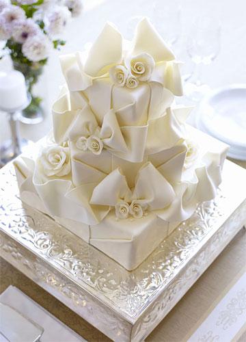 选择婚礼蛋糕师