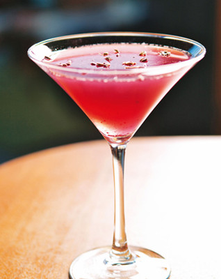 Blueberry&Lavender Martini蓝莓&薰衣草马天尼