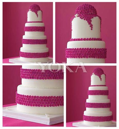 2016年12月4日城市快报 幸福时刻惊艳全场精致浪漫的婚礼蛋糕