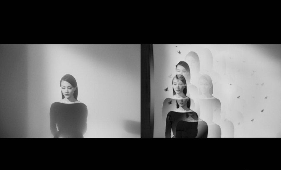 陈数另类黑白视觉大片 演绎复古优雅幻梦主题