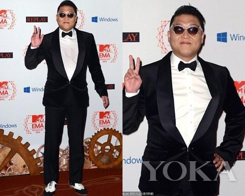 鸟叔 鸟叔psy以《江南style》mv获得最佳音乐录影带奖,他... 图片 72k 500x400