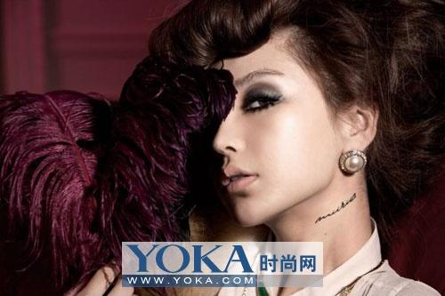 妩媚的坏女人一定要有性感的眼线__明星_YOK