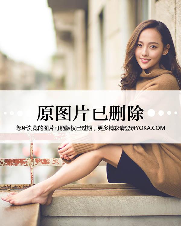 3D肉蒲团蓝燕长裙难掩丰满__明星_YOKA时尚