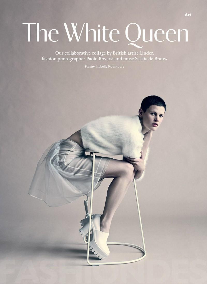 0年9月影片_白色皇后荷兰超模SaskiadeBrauw9月大片