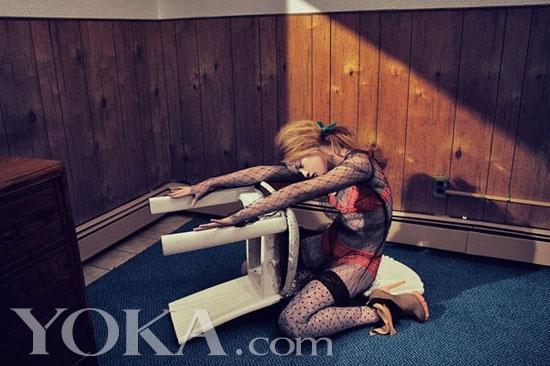 日本杂志戴文青木娃娃《Numero》睡衣日版大2016性感性感图片新款图片