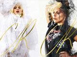 Lady Gaga披白纱拍大片